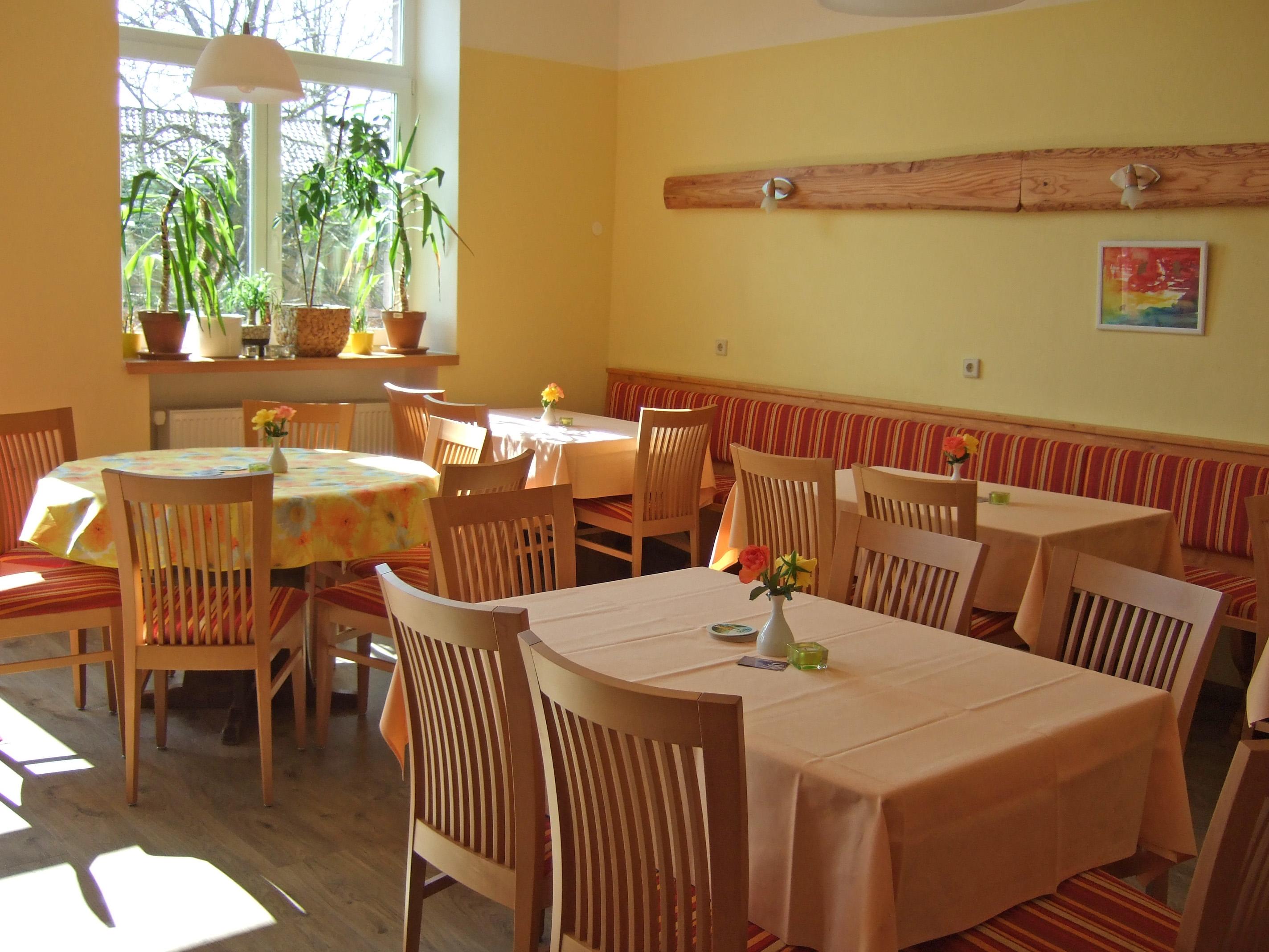 Blick in den Gastraum vom S'Cafe
