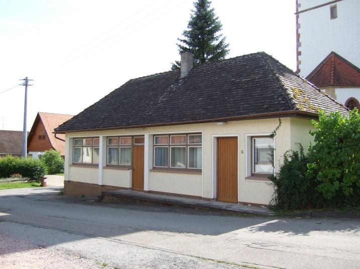 """""""Milchhäusle"""" in der Kirchgasse 5 im Ortsteil Rötenberg"""