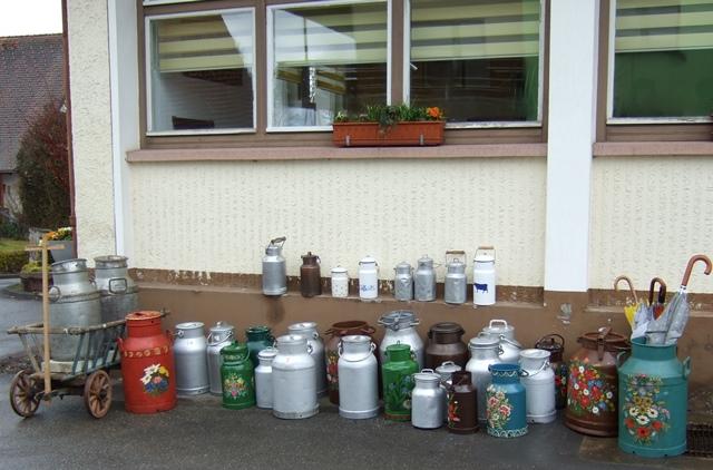 1. Rötenberger Milchkannenparade ein voller Erfolg