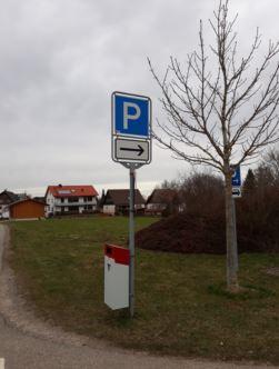 Station Parkplatz an der Halle Rötenberg