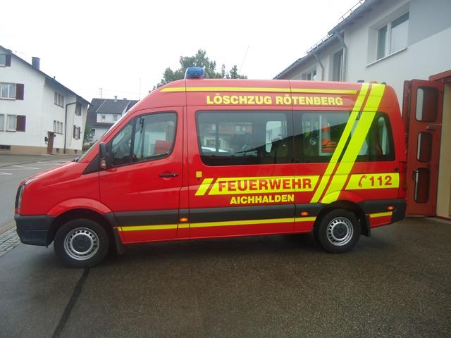 Mannschaftstransportwagen Löschzug Rötenberg