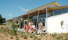 Gartenansicht des Kinderhauses in Aichhalden