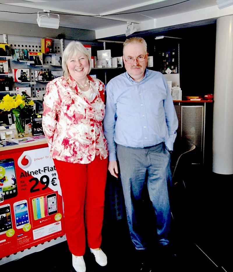 Hannelore Bächle und Michael Schiffer