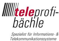 Logo teleprofi-bächle