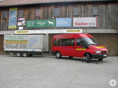 Auto und Lager