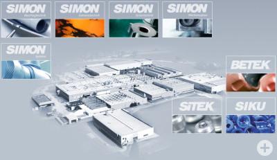 Übersicht der Firmengruppe SIMON