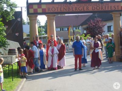 Dorffest in Rötenberg