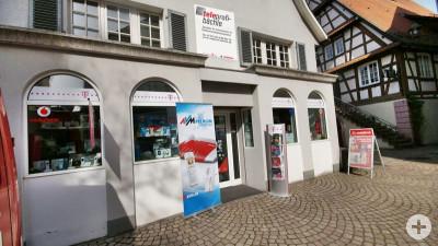 Geschäft in Haslach