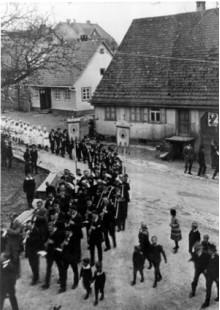 Erstkommunion in Aichhalden um 1932