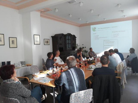 Klausurtagung Gemeinderat im September 2018