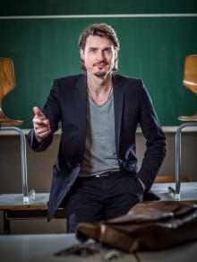Werbung für Marc Hofmann Kabarett, Lesung, Musik