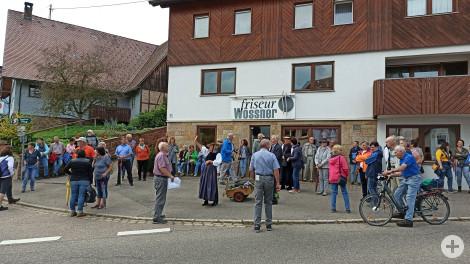 Ortsspaziergang Rötenberg Teilnehmer